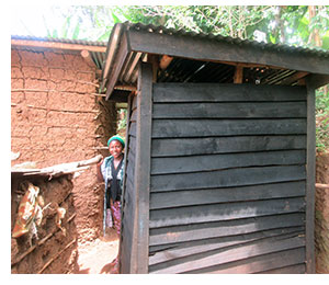 A new toilet on Ishwa Island
