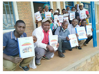 Participants at a safeguarding course in Burundi