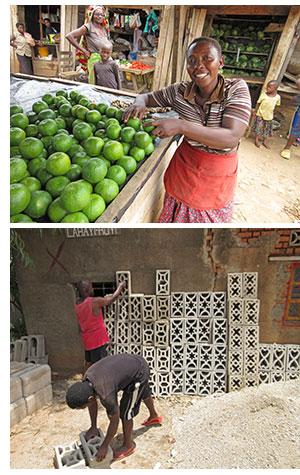 Small businesses in Burundi